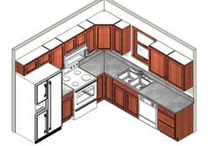 Kitchen Layout potential