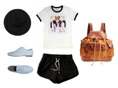 """""""Taylor swift concert"""" by louibooh on Polyvore featuring Mode, Rokin, Gladys Tamez Millinery und Henry Cuir"""