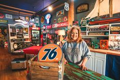 This Vintage Signs Store in Waynesville, North Carolina Is Worth Planning a Trip Around Waynesville North Carolina, Model Sailboats, Going On Holiday, Great Restaurants, Great Smoky Mountains, Antique Stores, Blue Ridge, Main Street, Vintage Signs