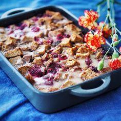 Bread pudding - simple is good ❤️ Leipävanukas voi olla seuraava trendiruoka, resepti blogissa. 😉