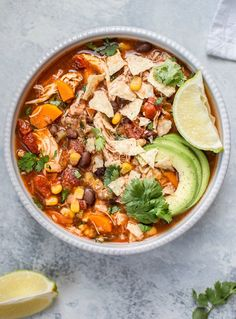 Crockpot Chicken soup Recipes is Among the Beloved soup Of Several People Around the World. Besides Simple to Produce and Excellent Taste, This Crockpot Chicken soup Recipes Also Health Indeed. Pasta Primavera, Crock Pot Soup, Slow Cooker Soup, Rice Cooker, Healthy Crockpot Recipes, Healthy Dinner Recipes, Healthy Soups, Crockpot Ideas, Healthy Lunches