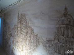 Венеция: интерьер, живопись, квартира, дом, гостиная, современный, модернизм, 10 - 20 м2, сюрреализм, пейзаж, смешанная техника #interiordesign #visualarts #apartment #house #livingroom #lounge #drawingroom #parlor #salon #keepingroom #sittingroom #receptionroom #parlour #modern #10_20m2 #surrealism #landscape #mixedmedia arXip.com