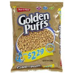 Malt-O-Meal Golden Puffs Cereal, 14 oz Golden Puffs Cereal, Malt O Meal, Best Cereal, Breakfast Ideas, Room Ideas, Bullet Journal, Movie, Meals, Night