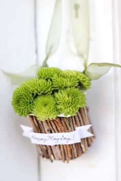 Spread cheer with these Recycled May Day Baskets! - A Tried & True Project