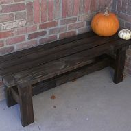 63 Awesome Diy Home Bench Project Ideas That You Love. Below are the Diy Home Bench Project Ideas That You Love. This article about Diy Home Bench Project Ideas That Furniture Projects, Home Projects, Diy Furniture, Painted Furniture, Furniture Plans, Diy Bank, Do It Yourself Furniture, Interior Minimalista, Built In Bench