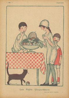 Torné-Esquius 1918 ''Les Petits Chapardeurs'' Pilferer Kids