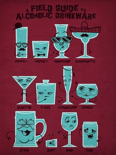 I like the idea of different alcoholic beverages having distinct personalities or personas.