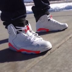 "Air Jordan 6 ""White/Infrared"""