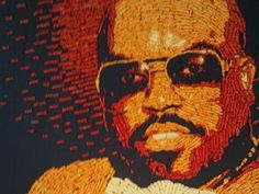 Cee Lo Green, cat immortalized in Cheetos art! Via @Christopher Wyse