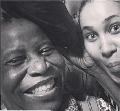 Barely 3 months after losing two people close to her, actress Caroline Ekanem, has again been bereaved. The stunning actress took to IG to reveal that her mother just passed. Sharing a photo of the both of them together she wrote; You taught me to be strong when I am going through the storm