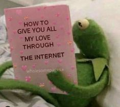 Love You Meme, Cute Love Memes, Sapo Kermit, Wholesome Pictures, Response Memes, Current Mood Meme, Snapchat Stickers, Funny Reaction Pictures, Funny Memes