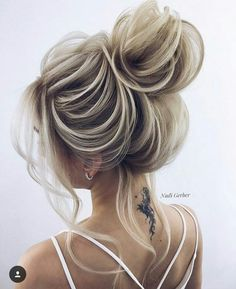 Nadi Gerber high updo wedding hairstyles Source by deerpearlflower Classy Updo Hairstyles, Up Hairstyles, Pretty Hairstyles, Wedding Hairstyles, Wedding Updo, Bridal Bun, Hairstyle Ideas, Bridal Hairstyle, Updos Hairstyle