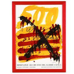TAPIES. Homenatge als 500 anys del llibre catala