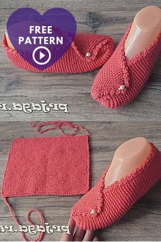 Knitting Slippers Rectangle Knitting Slippersideal For Beginners In Knitting Si , strickpantoffeln rechteck strickpantoffeln ideal für anfänger im stricken si , chaussons à tricoter rectangle slippersideal pour les débutants en tricot si Simply Knitting, How To Start Knitting, Easy Knitting, Knitting For Beginners, Knitting Needles, Knitted Slippers, Knitted Bags, Knitting Projects, Knitting Patterns