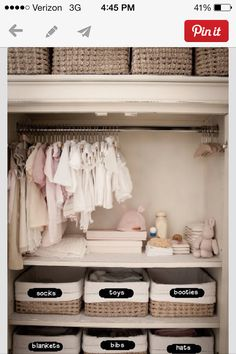 Baby closets