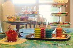 Set up a cupcake party!