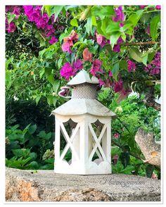Decorazioni, giardino, garden, lanterna,lantern,gardening, countrychic,romantic