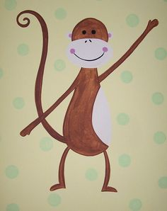 Monkey wall art