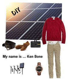 """Ken Bone"" by christen-olnhausen-frenkel on Polyvore featuring Jeep, Anthony Vaccarello, Brooks Brothers, Hollister Co., Polaroid, Home Decorators Collection, Michael Kors, men's fashion and menswear"
