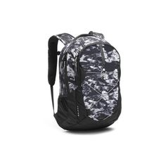 The North Face Jester Backpack ($65) ❤ liked on Polyvore featuring bags, backpacks, white mountain camo print, the north face daypacks, day pack backpack, knapsack bag, camouflage backpack and backpack bags