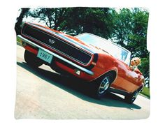 "1967 Chevrolet Camaro Full Color Photo Blanket / Wall Banner 50 x 60"" or 60 x 80"""