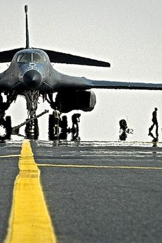 Boeing , Lancer, Supersonic Bomber with variable geometry wing. Military Jets, Military Aircraft, Fighter Aircraft, Fighter Jets, B1 Bomber, Automobile, Military Equipment, Jet Plane, Aircraft Carrier
