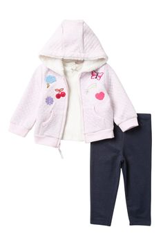 bc39a35ba641 Little Me - Patch Hoodie