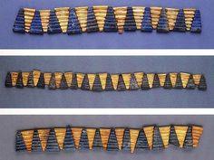 Choker, 2500–2400 B.C.; Early Dynastic Ur III period.    The National Museum of Iraq - Baghdad