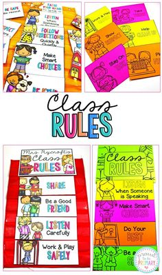 Class Rules can be i