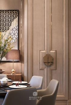 If you are creating a new cozy space and need some ideas, take a look at the board and let you inspiring! See more clicking on the image. Interior Design, House Interior, Elegant Interior Design, Interior Deco, Furniture Design, Interior, Luxury Interior, Door Design, Doors Interior