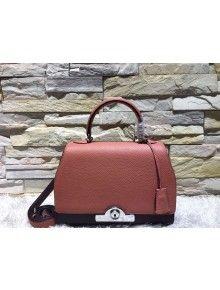 Moynat Medium Rejane Structured City Bag Rouge Purple Fabulous Handbags Review