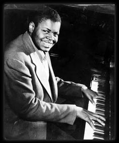 """Oscar Peterson - Originally from Canada, a swingin' musician and composer.  He was just incredible to hear; when he played, it sounded like he had tripled the number of keys on that piano.  Duke Ellington called him the """"Maharaja of the keyboard""""."""