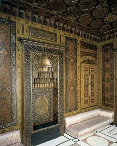 The Damascus Room at the CAM.
