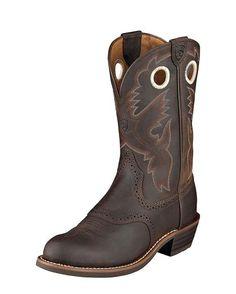 """Women's Heritage Roughstock 11"""" Boot - Antique Brown"""