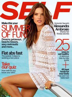 Magazine photos featuring Alessandra Ambrosio on the cover. Alessandra Ambrosio magazine cover photos, back issues and newstand editions. Alessandra Ambrosio, Naomi Campbell, Vogue, Yves Saint Laurent, Bikinis, Swimsuits, Ways To Eat Healthy, Stay Healthy, Healthy Food