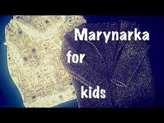 DIY: Marynarka dla dziecka - YouTube