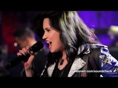 """Pop superstar Demi Lovato performs songs from her new album """"Demi"""" and gets personal on Walmart Soundcheck!"""