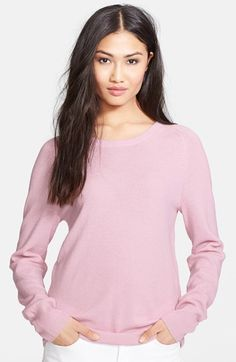 Equipment 'Sloane' Crewneck Cashmere Sweater available at #Nordstrom