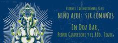 Flyer de Niño Azul - 7 de noviembre