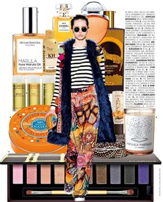 Pure Marula Oil in Marie Claire Italy #AfricanBotanics