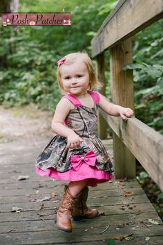 Custom Realtree Camo and Pink Peek a Poppy Dress Baby Girl Toddler Girl Girls Dress Baby Girl Camo, Camo Baby Stuff, Cute Baby Girl, Baby Boys, Baby Girl Dresses, Girl Outfits, Flower Girl Dresses, Camo Outfits, Poppy Dress