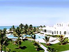 Oman: Salalah, This is the Hilton where we stayed. 2011-2012