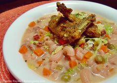 Royal Domesticity: Chicken Wings and Macaroni Soup
