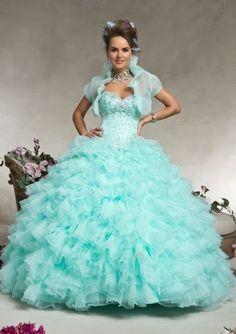 Maravillosos vestidos de 15 años para fiestas