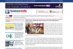 Business India #wordpress #blog website with #responsive design. Its provide news about media