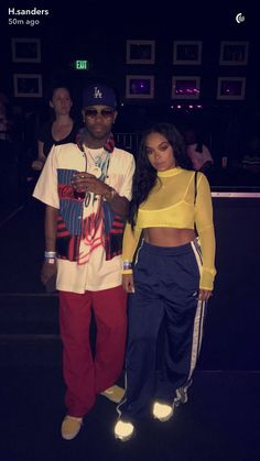 :♕Follow @BBGXLONI Fashion Couple, Look Fashion, Urban Fashion, Young Black Couples, Heather Sanders, Bad And Bougie, Bae Goals, Couple Relationship, Couple Outfits