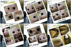 Leithygurumi: Amigurumi Lal Baby Free Turkish Recipe - Design By Melek An Baby Baby, Crochet Baby Clothes, Amigurumi Doll, Crochet Dolls, Food Design, Flamingo, Maya, Baby Dolls, Diy Projects