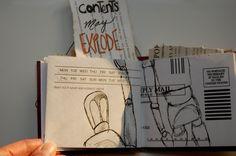 Junk mail art book.