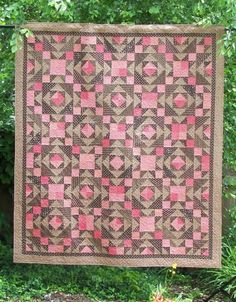 Star Of The Mountains Quilt Pattern PDF Reproduction Traditional Style