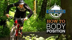 Learn how to position your body while on the mountain bike. #best #mountain #bike #reviews #advice #tips